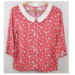 LC Lauren Conrad Tops - Lauren Conrad Minnie Mouse Size Small Top
